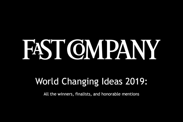 AMPLY Power Honored by Fast Company's 2019 World Changing Ideas Awards.