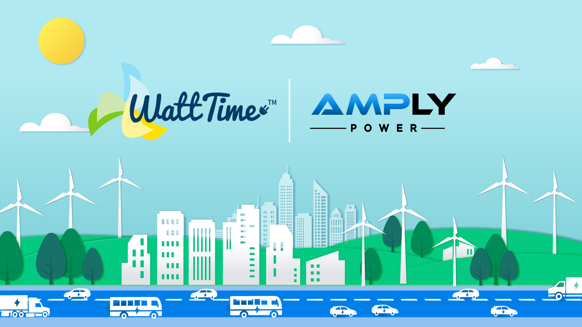 AMPLY Power Integrates WattTime API to Enable Electric Fleets to Minimize and Report Total Greenhouse Gas Emissions 